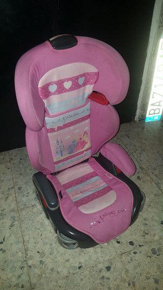 silla coche princesas.