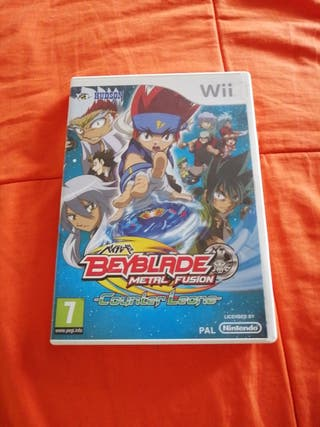 BEYBLADE Metal Fusion para Wii