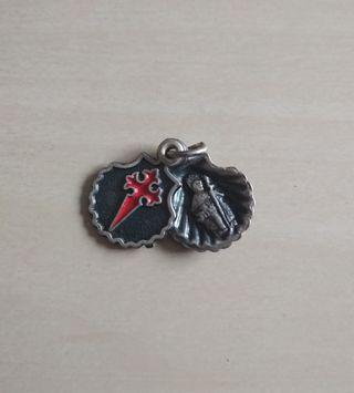 Antigua medalla Santiago año santo