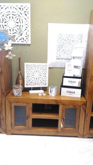 Mueble tv rustico