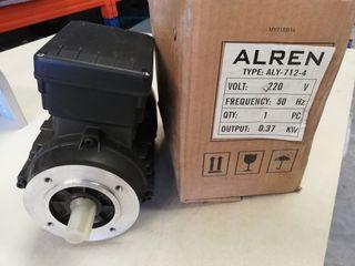 motor eléctrico ALREN 0,37KW 220v