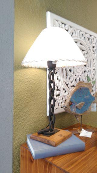 lampara rústica