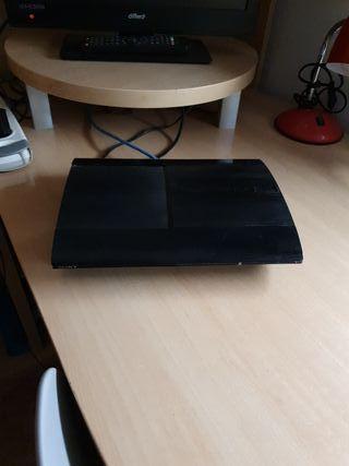 ps3 500gb + juegos + mando