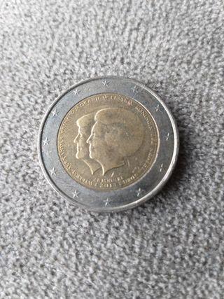 Moneda conmemorativa 2€ Holanda