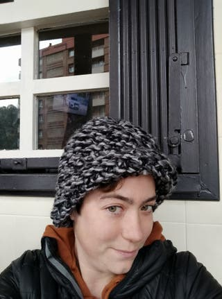 gorro de lana unisex para invierno lana gorda