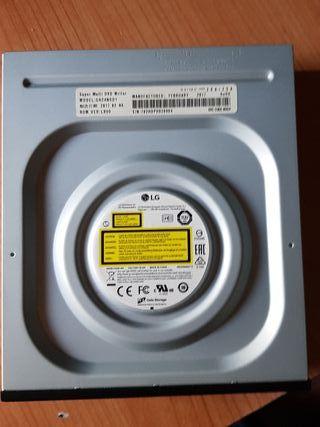 grabadora y reproductor DVD para pc