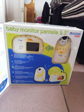 Baby monitor pantalla color 2.5""