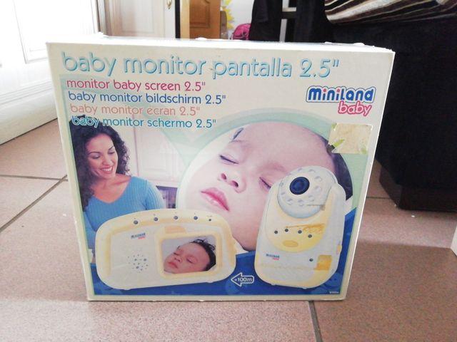 """Baby monitor pantalla color 2.5"""""""