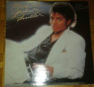 Lp Michael Jackson triller.