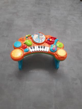 mesa de actividad - piano infantil