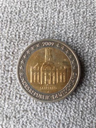 Moneda conmemorativa 2€ Alemania