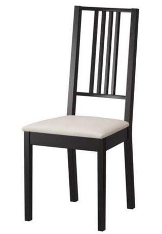 4 sillas de comedor. Modelo Börje. Todas 80 €
