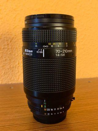 Objetivo Nikon 70-210mm