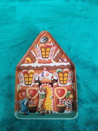 Caja latón inglesa: Hansel y Gretel