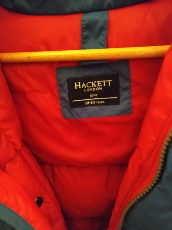 plumífero niño hackett original talla 13-14