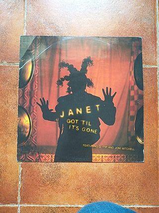 VINILO JANET JACKSON - GOT 'TIL IT'S GONE (MX)