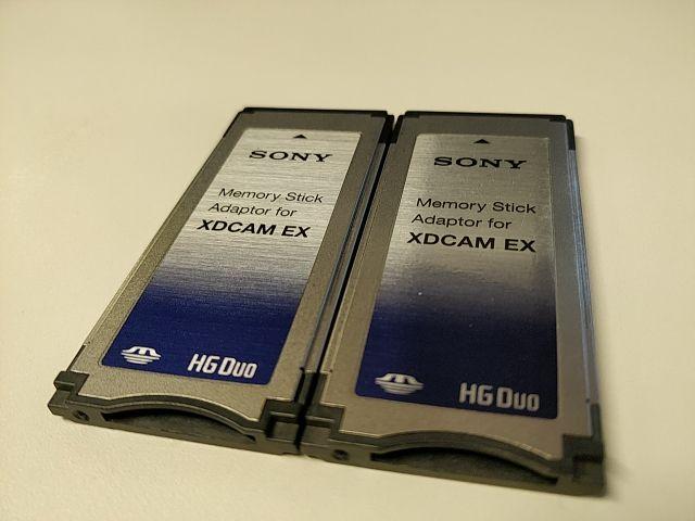 Adaptador Tarjetas XDCAM_EX HG/ Duo Sony MEAD-MS01