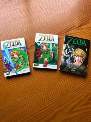 Conjunto 3 comics manga Saga Zelda!
