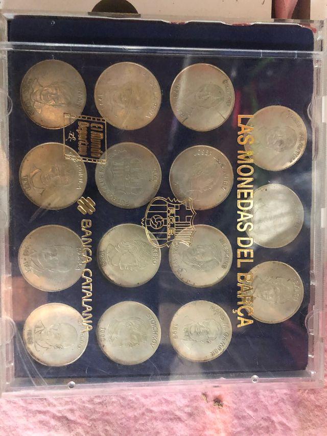 Monedas de F.C.Barcelona