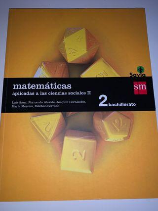 Matemáticas aolicadas a las ciencias sociales II
