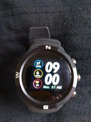 Smartwatch chino con pulsómetro y GPS