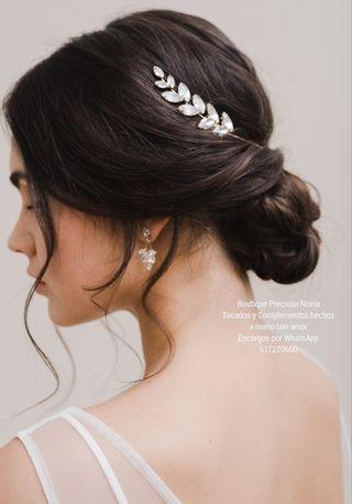 Muy fina y brillante diadema novia estilo Griego