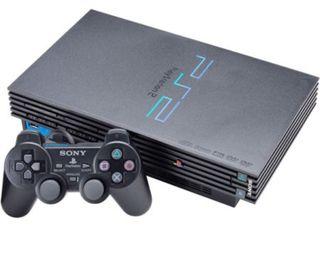 PS2 + Memory card + 3 mandos + 2 juegos