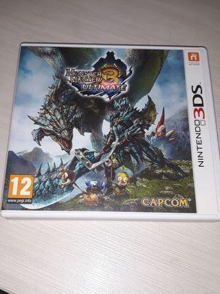 Monster Hunter 3 Ultimate 3DS