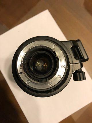 Objetivo Nikon AF VR-Nikkor 80-400mm f/4.5-5.6D ED