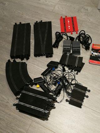 Scalextric pistas y accesorios