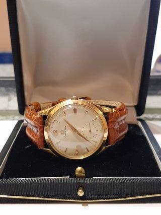 reloj oro suizo 18k omega