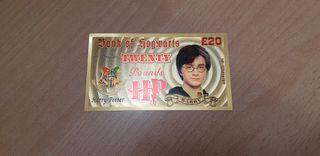 lote de billetes de harry potter