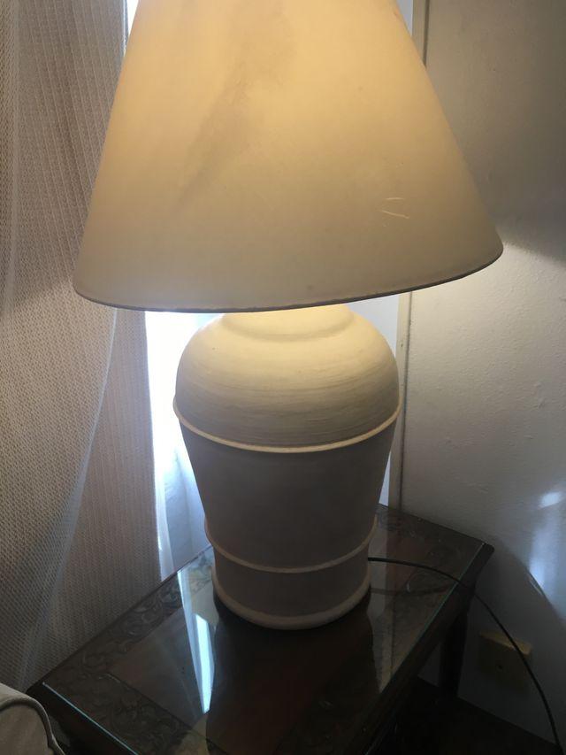 Lámparas de terracota