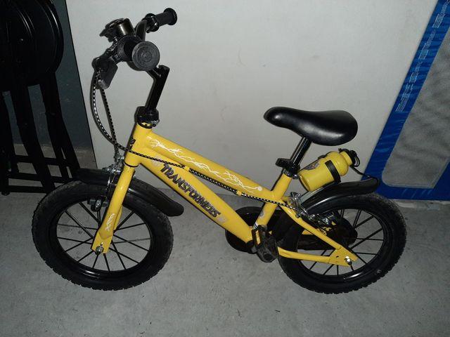 """Bici 14"""" para 3-4 años"""