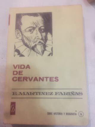 "Libro ""Vida de Cervantes"""
