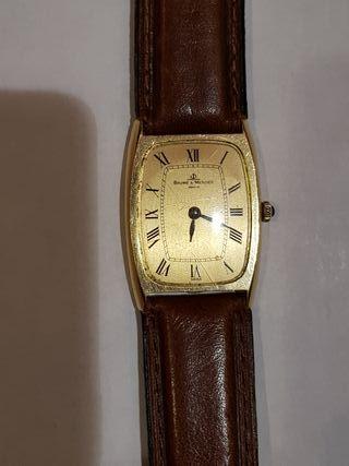 reloj oro suizo baume & mercier