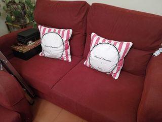 sofá dos plazas + butaca a juego