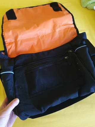 baby bag with changing mat