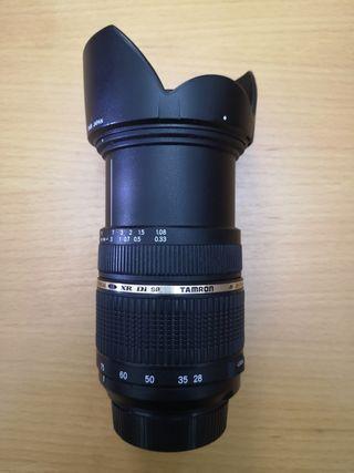 Nikon, Objetivo TAMRON XR Di AF 28-75 f/2.8 .