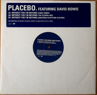 "PLACEBO feat DAVID BOWIE ""WITHOUT YOU..."" maxi-12"""