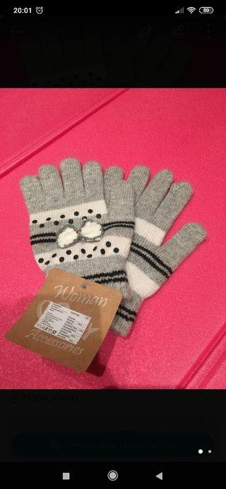 guantes nuevos
