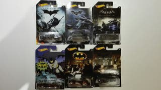 Set Batman Hot wheels (Lote)