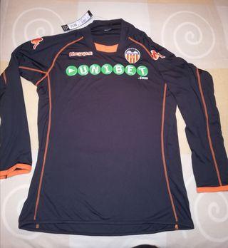 Camiseta Kappa negra Valencia CF