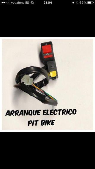 Boton interruptor arranque electrico pit bike