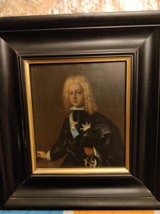 Retrato original Infante Borbón