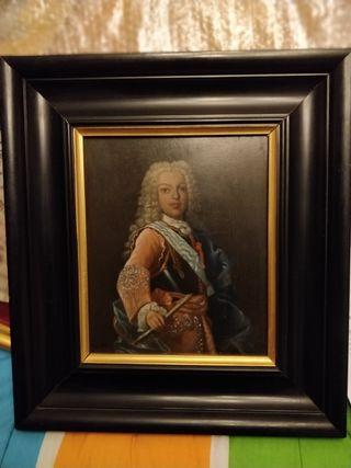 Retrato antiguo de Infante Borbón