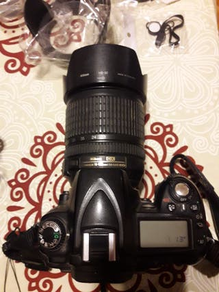 Nikon D90 + Objetivo Nikon AF-S DX VR 18-105