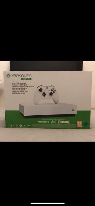 Xbox one s 1Tb 2 años garantía. Nueva