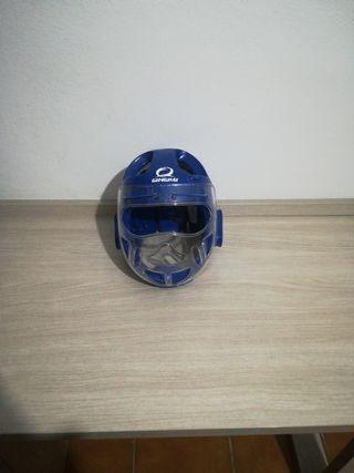 casco de kárate