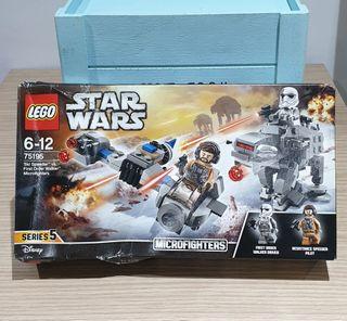juguete nuevo precintado Lego star wars 75195